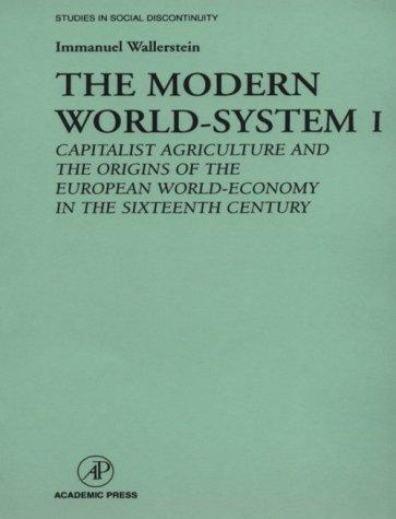 The Modern World-System I