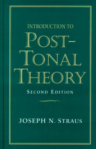 Download Introduction to post-tonal theory