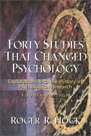 Download Forty Studies That Changed Psychology