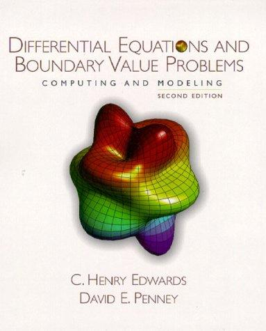 Download Differential equations and boundary value problems