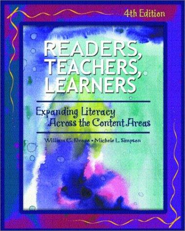 Readers, teachers, learners