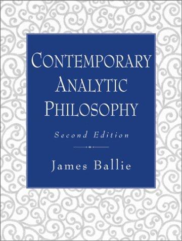 Contemporary Analytic Philosophy