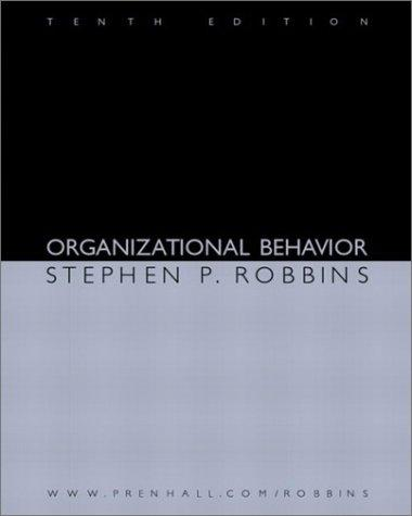 Download Organizational Behavior (10th Edition)