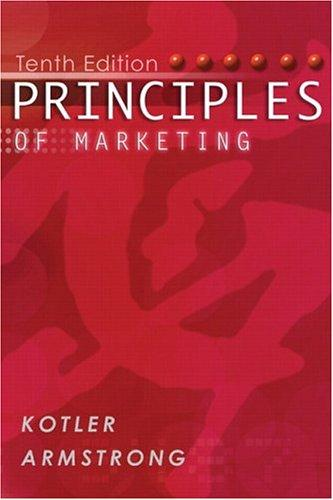 Download Principles of Marketing (with FREE Marketing Updates access code card) (10th Edition)