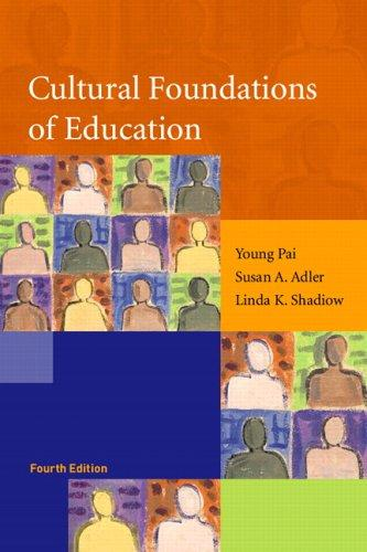 Download Cultural foundations of education