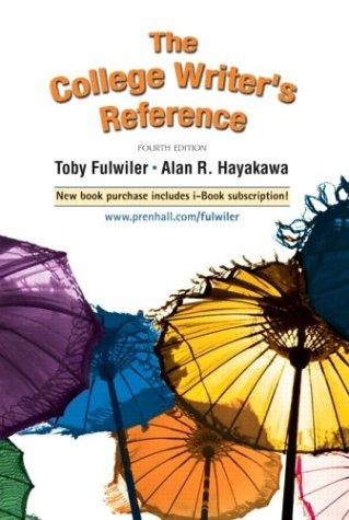 Download The college writer's reference