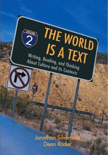The world is a text