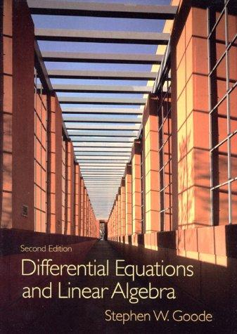 Download Dif ferential equations and linear algebra
