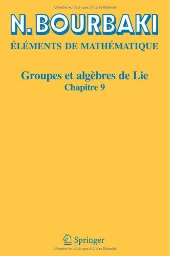 Download Groupes et algèbres de Lie