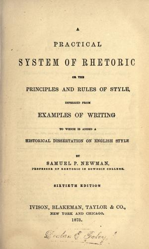 Download A practical system of rhetoric