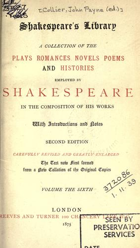 Download Shakespeare's library