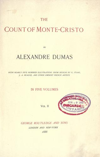 Download The Count of Monte-Cristo, Vol II