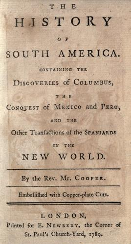 Download The history of South America