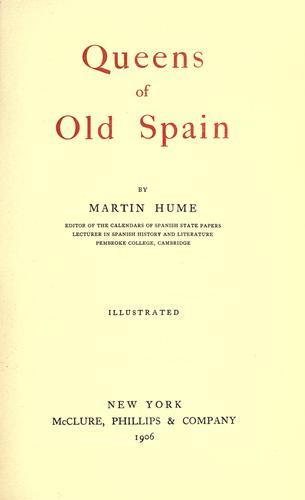Download Queens of old Spain