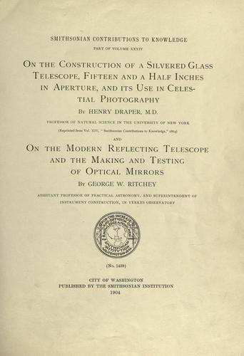 Download On the construction of a silvered glass telescope