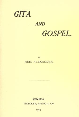 Download Gita and gospel
