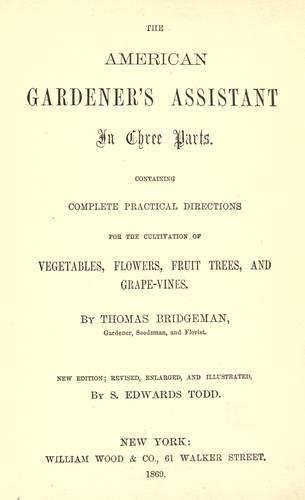 Download The American gardener's assistant
