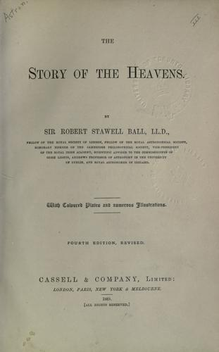 Download The story of the heavens.