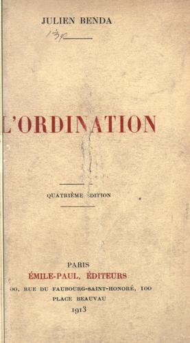 L' ordination