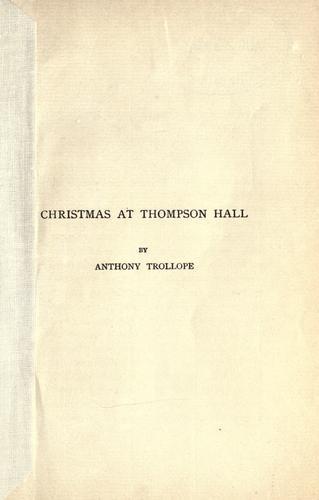 Christmas at Thompson Hall.