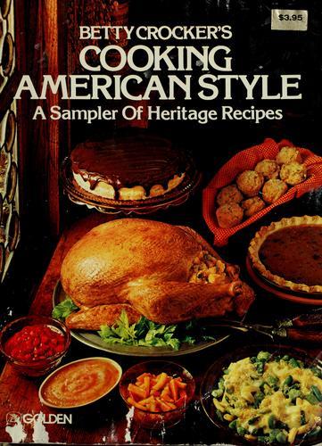 Betty Crocker's Cooking American style