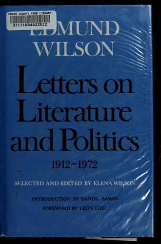 Download Letters on literature and politics, 1912-1972