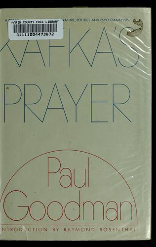 Download Kafka's prayer