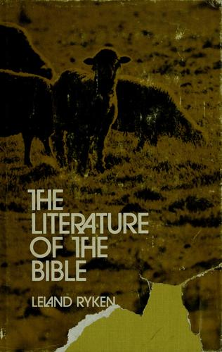 The literature of the Bible.
