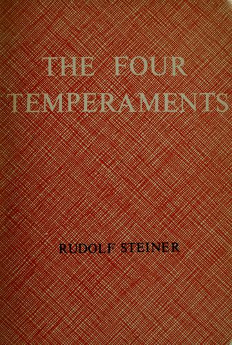Download The four temperaments.