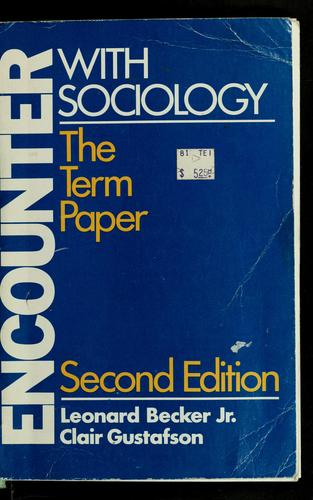 Download Encounter with sociology
