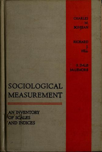 Sociological measurement