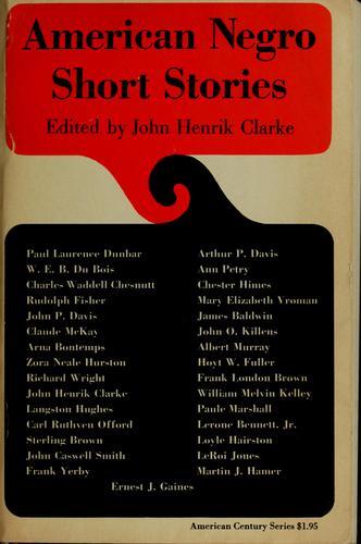 American Negro short stories.