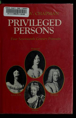 Download Privileged persons