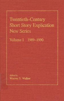 Twentieth-century short story explication.