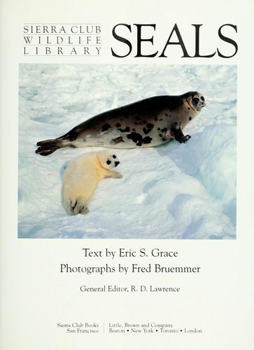 Seals (Sierra Club Wildlife Library)