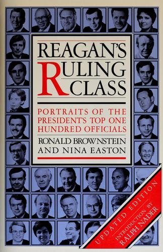 Reagan's ruling class