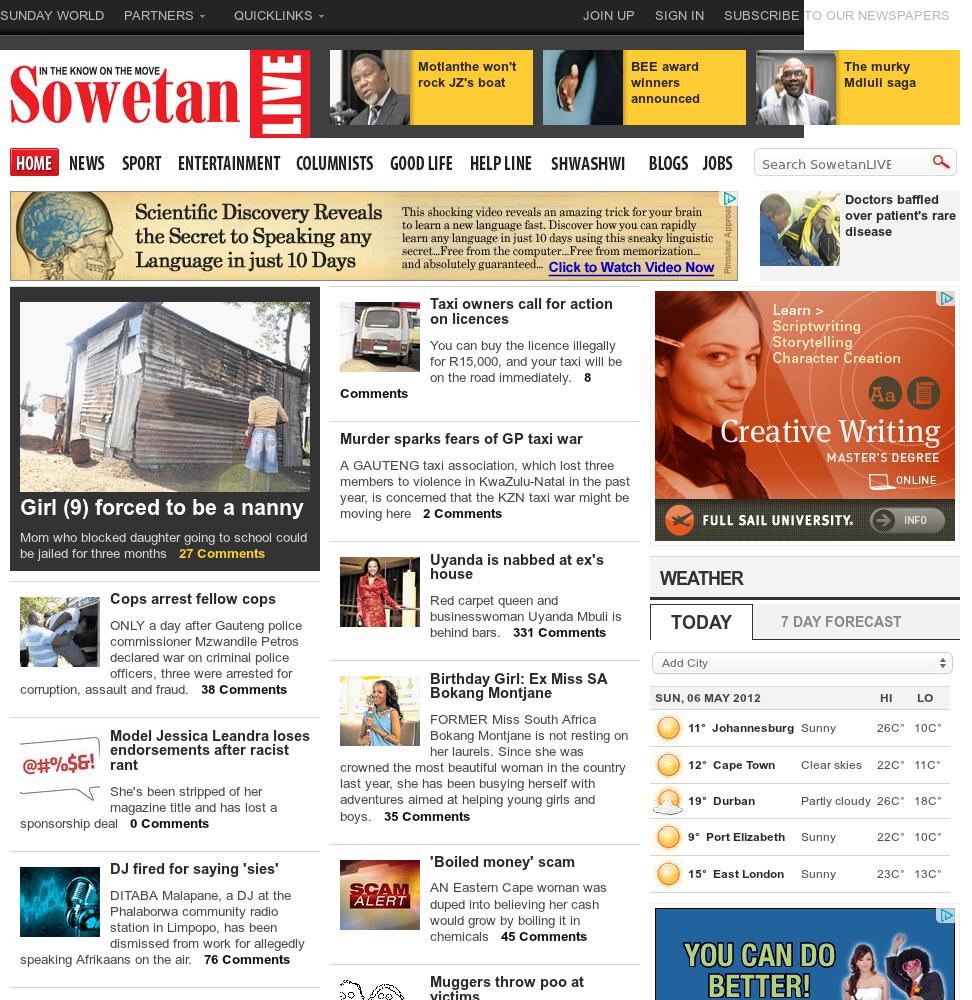 Sowetan Live