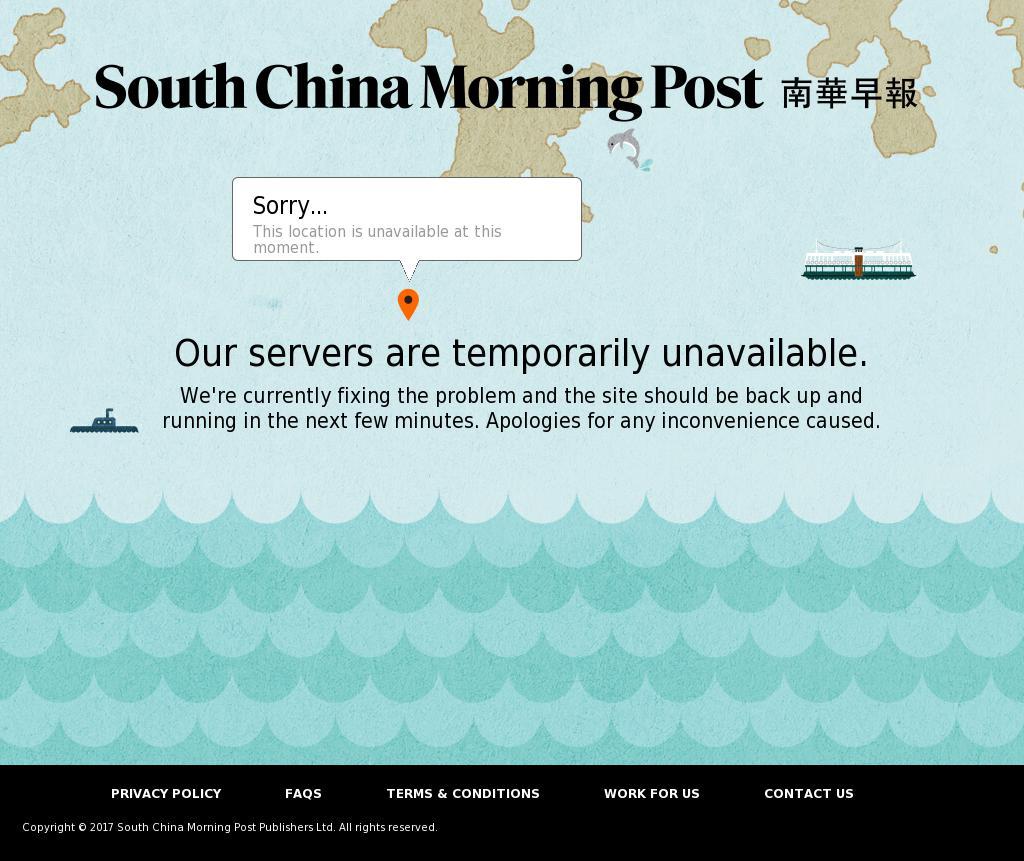 South China Morning Post at Tuesday Oct. 10, 2017, 8:15 p.m. UTC