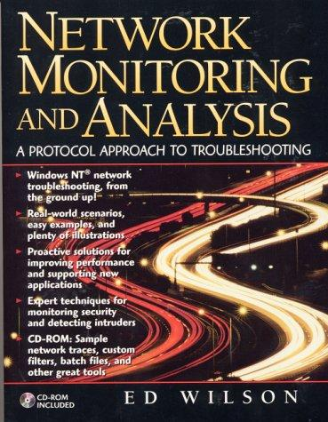 Network monitoring and analysis by Ed Wilson