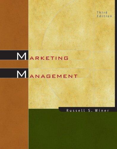 Marketing Management (3rd Edition)