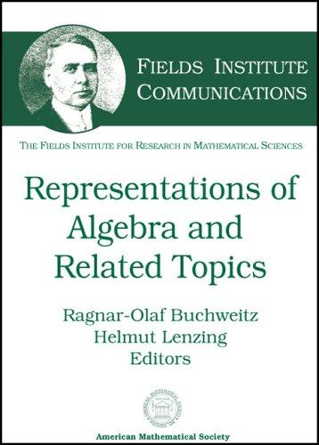 Representations of Algebras and Related Topics (Fields Institute Communications,) by Fields Institute for Research in Mathema
