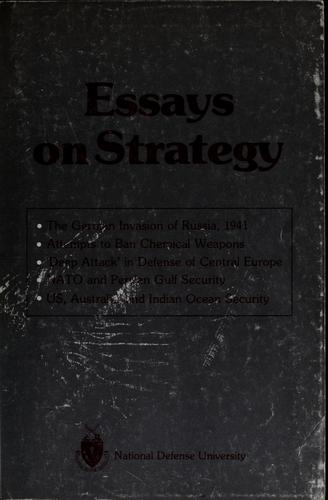 Essays on strategy by