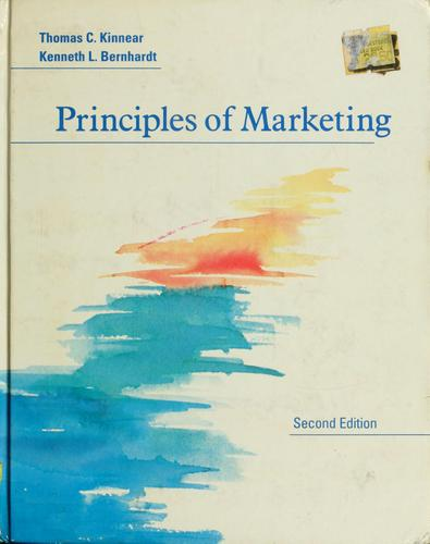 Principles of marketing by Thomas C. Kinnear