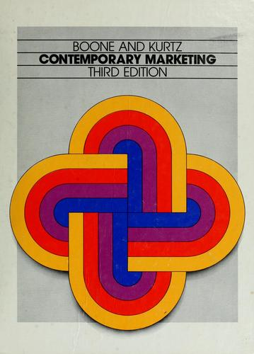 Contemporary marketing by Louis E. Boone