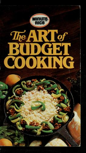 The art of budget cooking by General Foods Corporation
