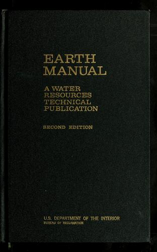 Earth manual by H.E. Kisselman