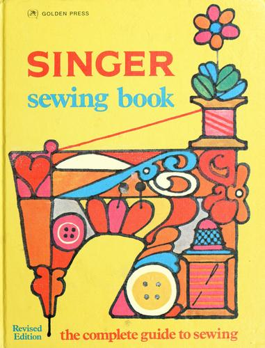 Singer sewing book by Jessie Hutton
