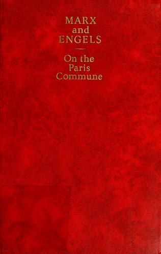 On the Paris Commune by Karl Marx