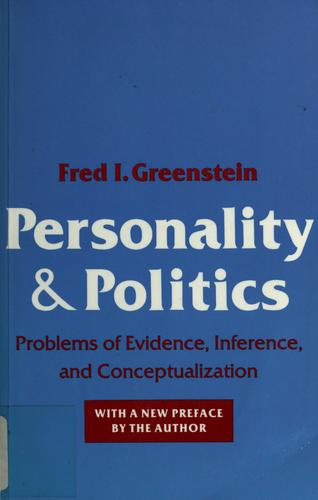 Personality and politics