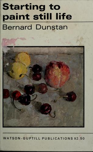 Starting to paint still life.